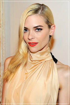 Jaime King/ orange lipcolor/ orange lipstick