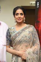 Sri Devi in designer saree stunning beauty at the launch of MOM movie Trailer~  Exclusive 145.JPG