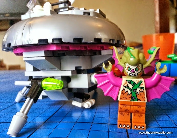 Mutated Dr O'Neill LEGO turtles minifigure Kraang Ship trapdoor