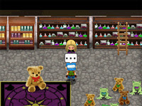 Witch Princess Harvest Moon teddy bear collection