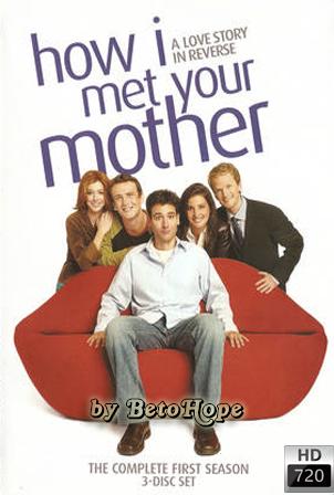 How I Met Your Mother Temporada 1 [720p] [2005] [Ingles Subtitulado] HD 1080P  [Google Drive] GloboTV