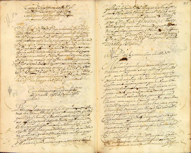 Carta compilada, 25/12/1720. Acervo Arquivo Nacional.