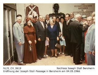 NLJS_CV_0619 Eröffnung der Joseph-Stoll-Passage am 04.09.1966; Nachlass Joseph Stoll Bensheim, Stoll-Berberich 2016