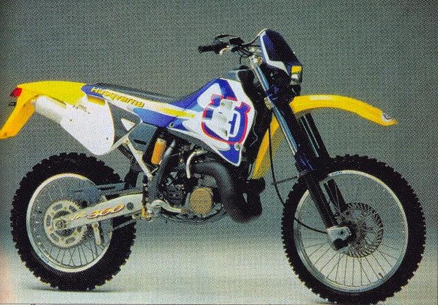 1993 Husqvarna WR360