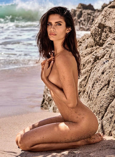 sara sampaio naked photo shoot for gq spain magazine