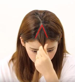 cara memotong rambut sendiri 2