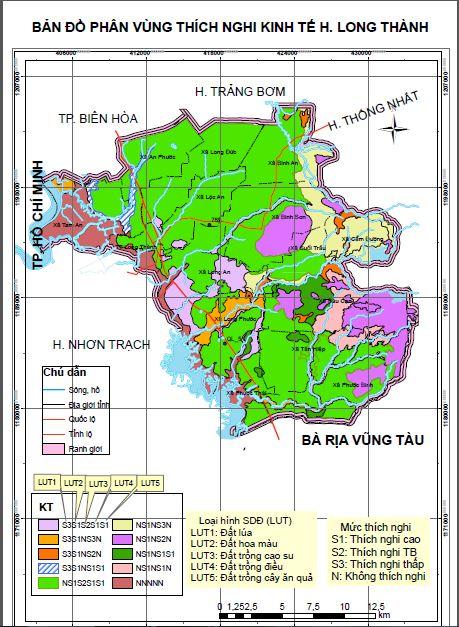 Bản đồ thích nghi kinh tế - đánh giá thích nghi đất đai theo FAO