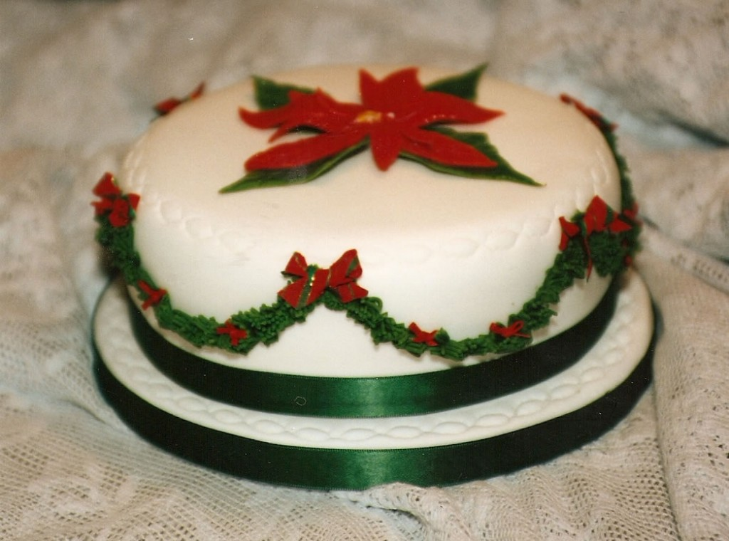 Christmas cake decorations christmas ideas for Iced christmas cakes