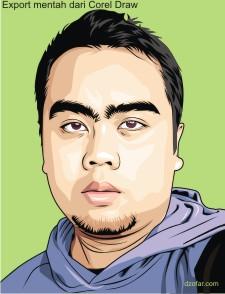 PNG Export Mentah Corel Draw