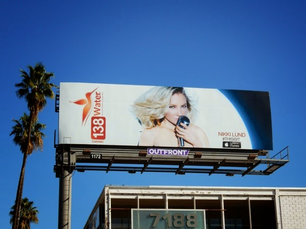 138 Water Nikki Lund billboard