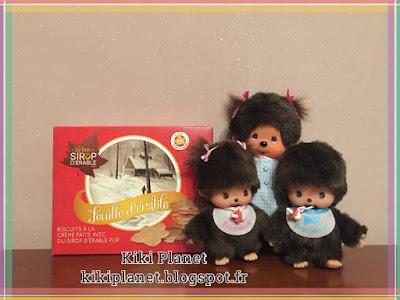 Diana la monchhichi et bebichhichi canada  sirop d'érable biscuits spécialités