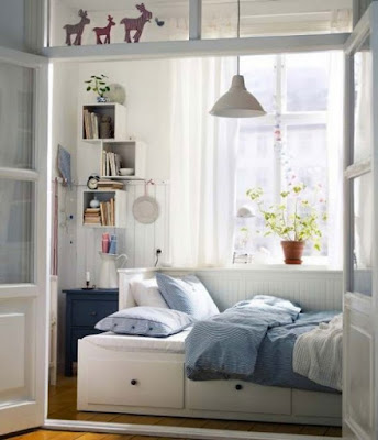 Image result for Tips Menata Kamar Tidur Yang Sempit Agar Terlihat Lebih Luas