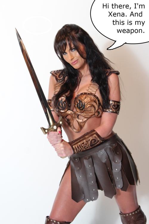 warrior princess parody Xena
