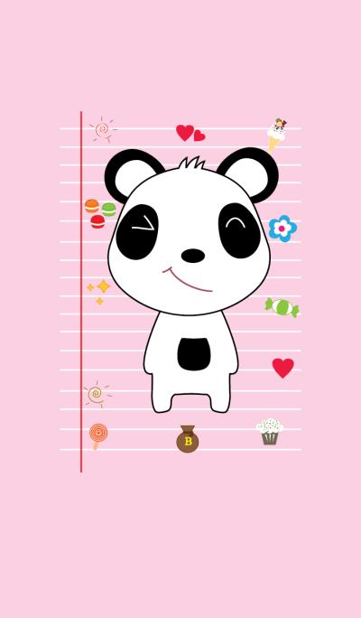 Cute panda theme v.6