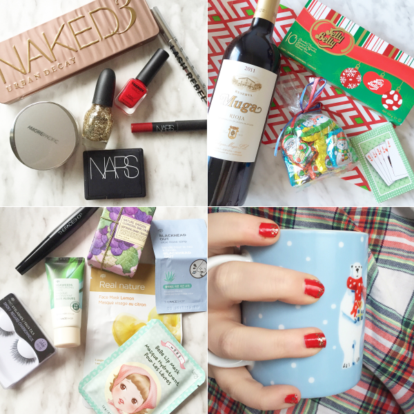 bbloggers, bbloggersca, beauty blogger, canada, makeup, skincare, thefaceshop advent, mug, wine, amorepacific cushion, sst cosmetics,nars cruella