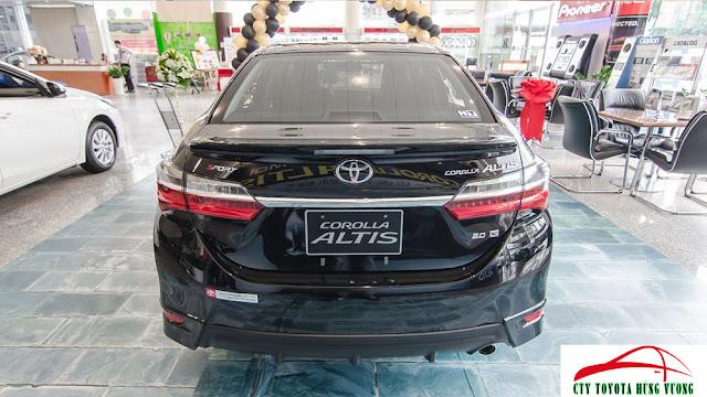 Đánh giá xe Altis V Sport 2018 tại Toyota Hùng Vương ảnh 9