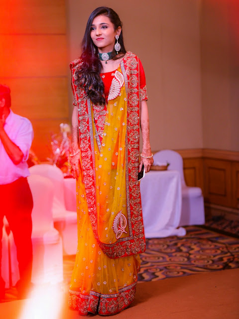 Gujarati Saree Draping Style