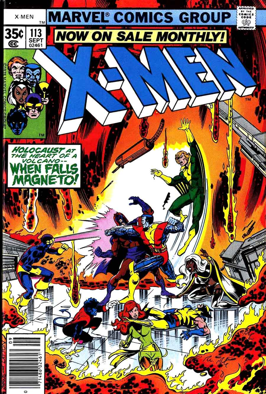 X-men v1 #113 marvel comic book cover art by John Byrne