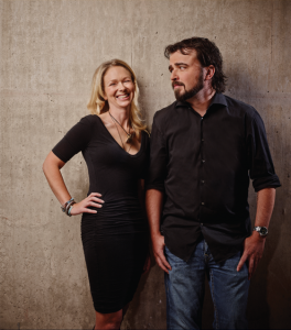 "The authors of ""UnSelling"" - Alison Kramer and Scott Stratten"
