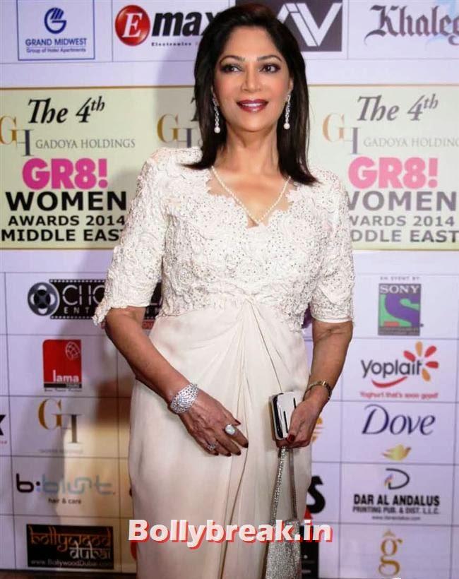 Simi Grewal, Shriya, Kangna, Barkha at 4th GR8 Women Awards 2014