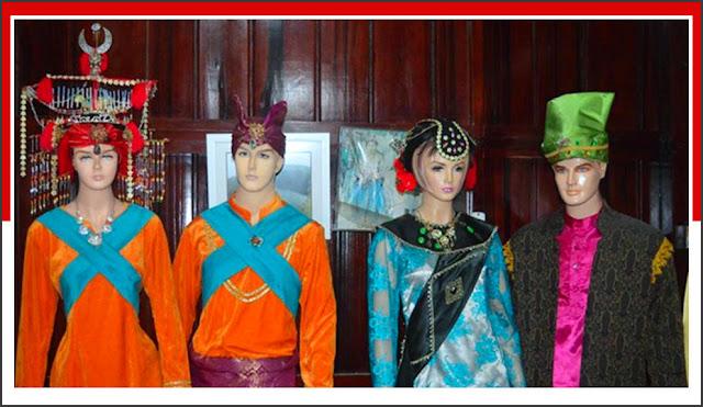 Gambar Pakaian Adat Rakyat Biasa Maluku Utara
