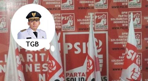 Ini Alasan PSI NTB Usulkan TGB Jadi Cawapres Jokowi