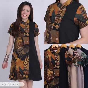 baju batik terbaru 2019