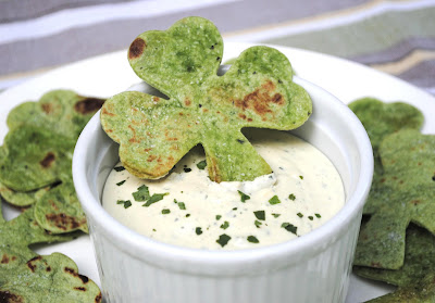 High-Heeled Love: St. Patrick's Day Food - Shamrock Chips from Zakka Life