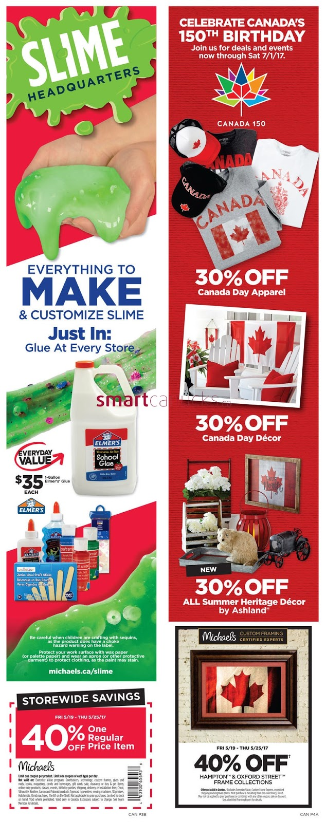 Michaels Crafts Weekly Flyer