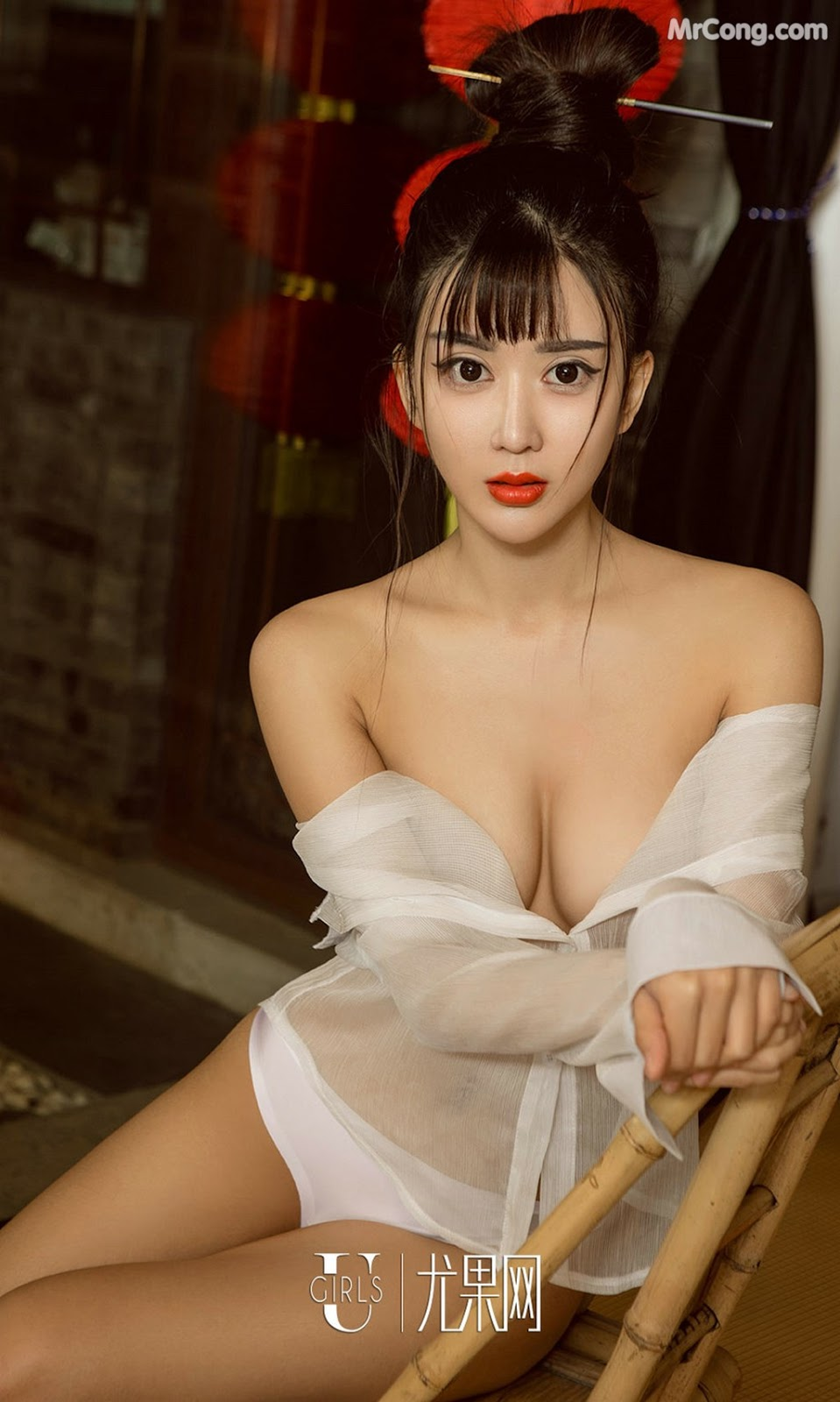 Image UGIRLS-Ai-You-Wu-App-No.868-Zhao-Zhi-Yan-Xiao-Hui-MrCong.com-015 in post UGIRLS – Ai You Wu App No.868: Người mẫu Zhao Zhi Yan (赵智妍) và Xiao Hui (筱慧) (40 ảnh)