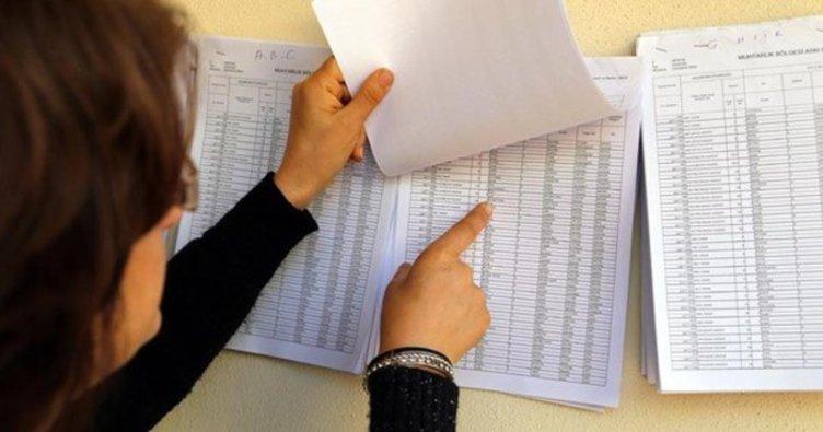 Seçmen Listeleri Askıda. Son Değişiklik 17 Ocak
