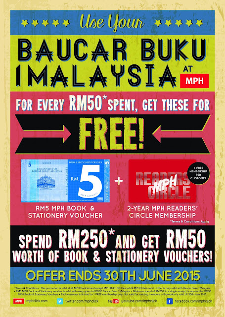 MPH BB1M Promotions 1Malaysia Book Vouchers