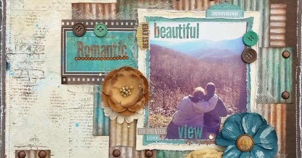 Amy S Pretty Papers Romantic Day Layout For Bobunny