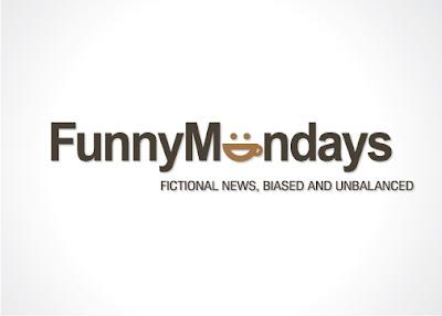 funny mondays logo design