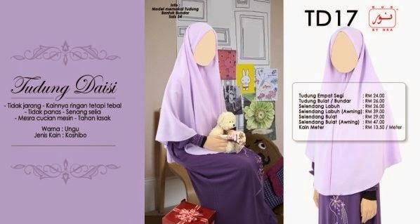 warna ungu butik muslimah online
