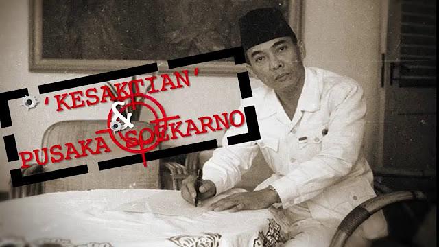 4 Benda Pusaka Yang Dimiliki Presiden Soekarno