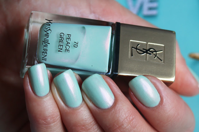 YSL 70 Peace Green swatch