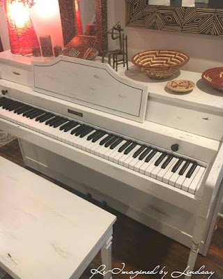 Piano Makeover After