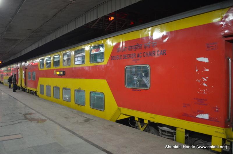 jaipur delhi doubledecker train experience enidhi india travel blog