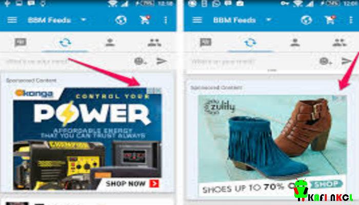 Tips Menghilangkan Iklan di Feed Di BBM