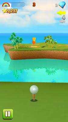 golf island hile apk indir