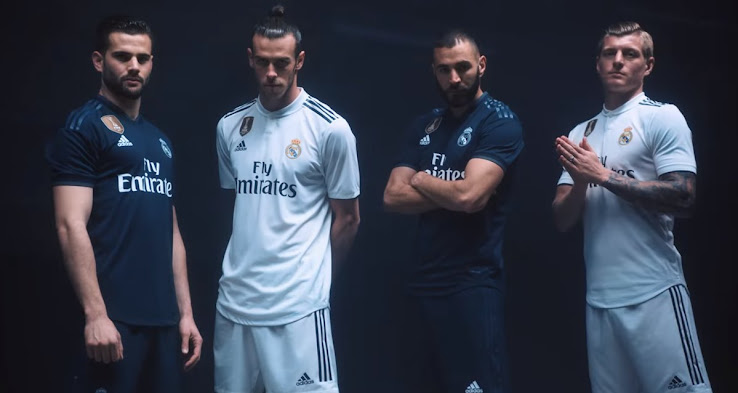 hot sales d606d 6e80a All-New Extraordinary Real Madrid 18-19 Kit Font Released ...