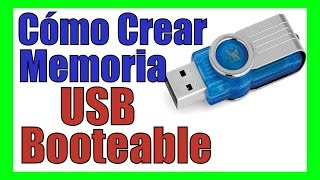como hacer memoria usb  pendrive booteable con windows