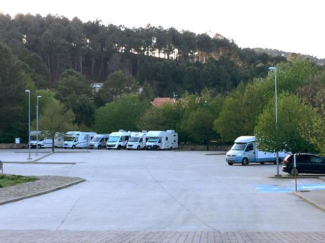Área de autocaravanas de La Alberca - caravaneros.com