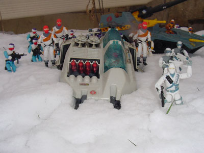 1988 Arctic Firefly, TRU Exclusive, Snow Serpent, 1991, Maggot, Worms, 1987, Wolf, Ice Viper