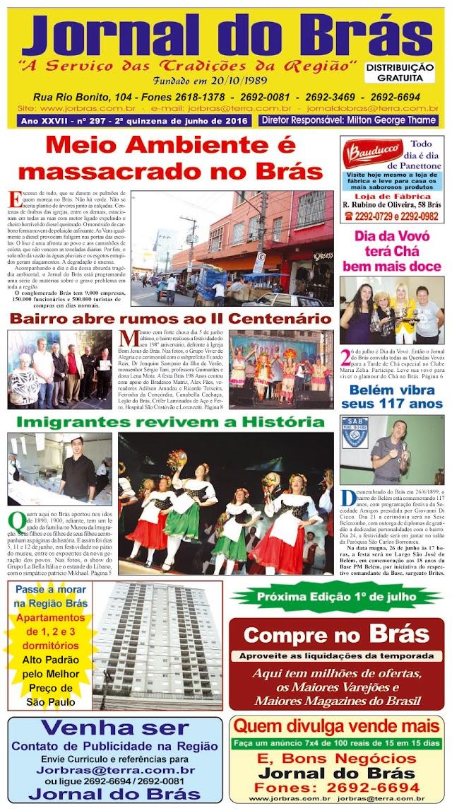 Destaques da Ed. 297 - Jornal do Brás