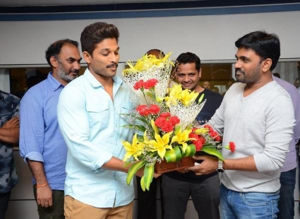 Director Maruthi's film gets finalized soon by Allu Arjun!