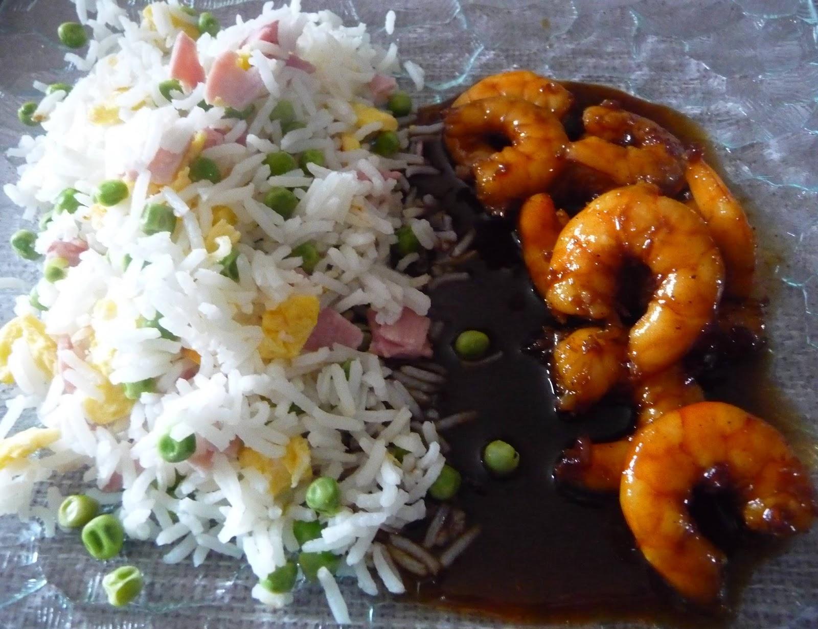 Crevettes caramélisées à l'asiatique - Blogs de cuisine