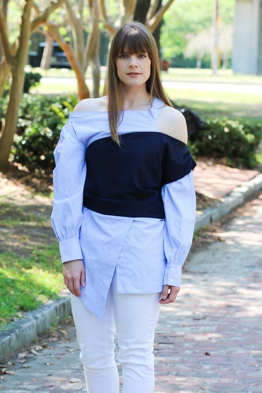 Asymmetrical tops- StyleWe