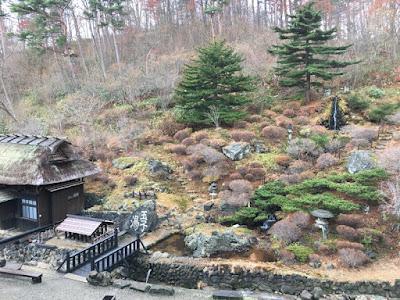 玉子湯の庭園エリア